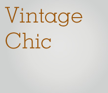 Vintage Chic Moodboard